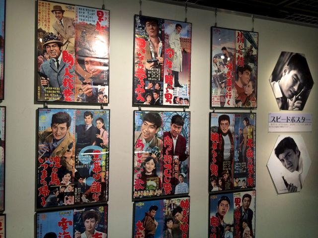 映画ポスターの展示