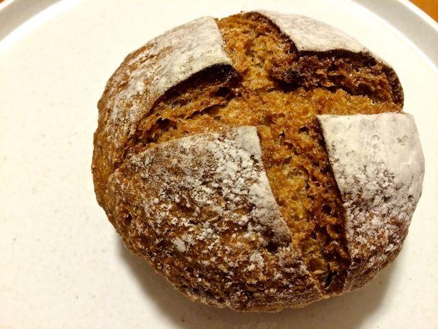 オーガニックライ麦のパン