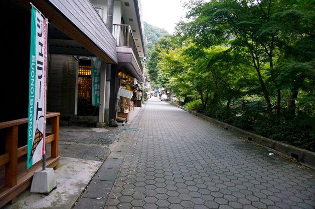 袋田の滝入口周辺