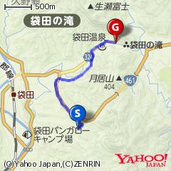 奥久慈パノラマライン〜袋田の滝