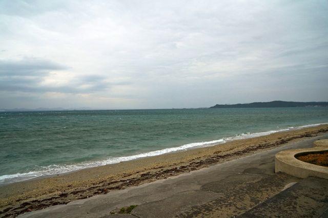 海中道路からの眺め1