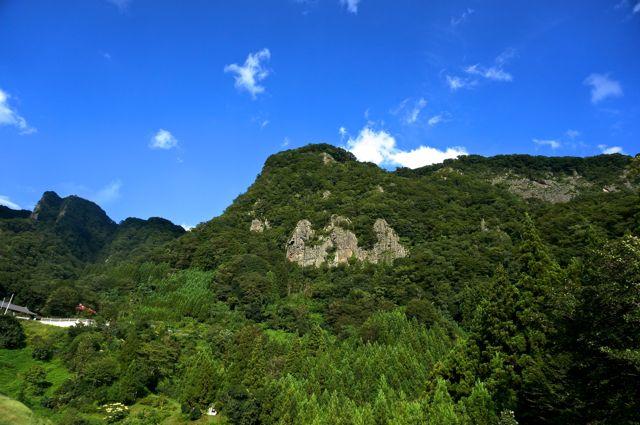 奥久慈パノラマラインからの眺め1