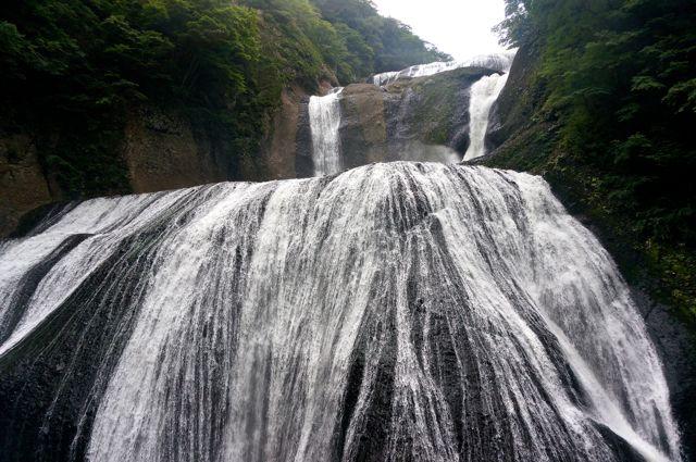 第1観瀑台から見た袋田の滝