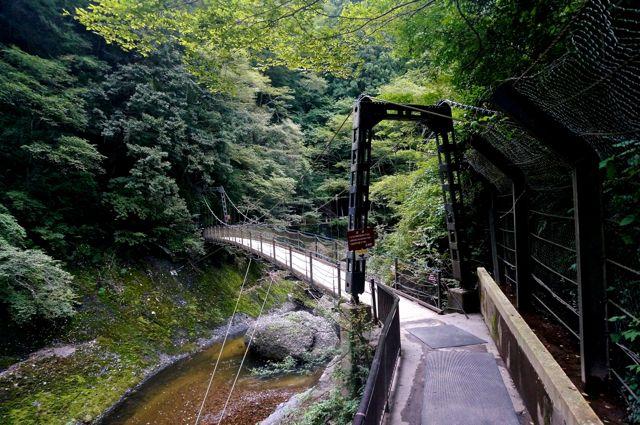 袋田の滝・吊り橋