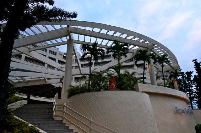 リザンシーパークホテル谷茶ベイ入口