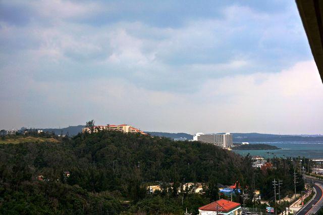 バルコニーからの眺め