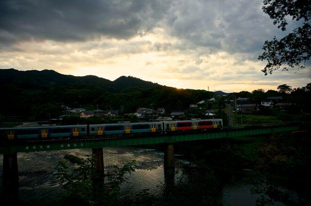 茨城県道324号からの眺め