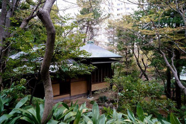 旧古河庭園・茶室