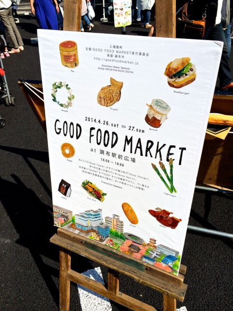 GOOD FOOD MARKET看板