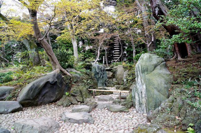 旧古河庭園・枯滝