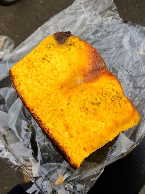 北海道産かぼちゃと有機レーズンのパン