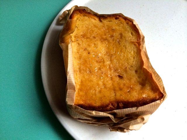 玄米パンのメープルフレンチ