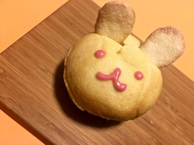 うさぎのクリームパン
